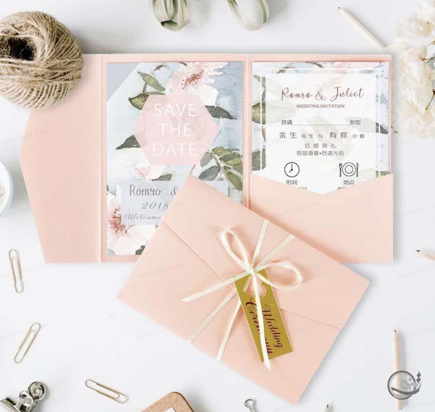 کارت عروسی لوکس خاص و جدید