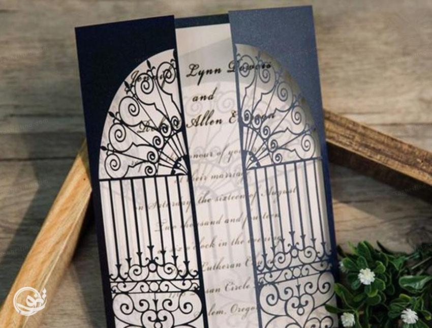 کارت عروسی لوکس زیبا