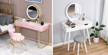 جدیدترین مدل های تزیین میز آرایش عروس