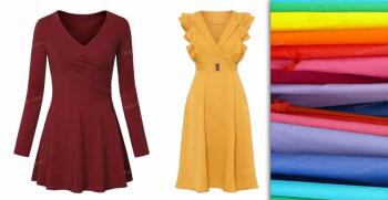 مدل لباس ریون شیک و مجلسی جدید ساده و طرح دار