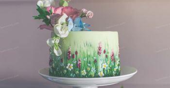 کیک تولد بهاری پسرانه و دخترانه | کیک تولد متولدین فروردین
