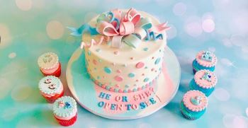 50 مدل کیک تعیین جنسیت نوازد | کیک تعیین جنسیت پسر و دختر