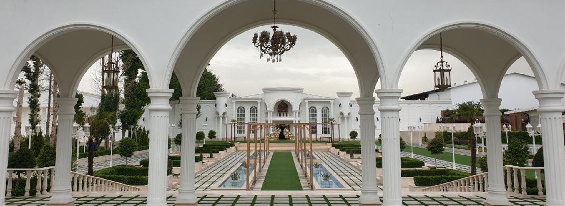 معرفی 16 باغ عمارت عکاسی عروس در تهران